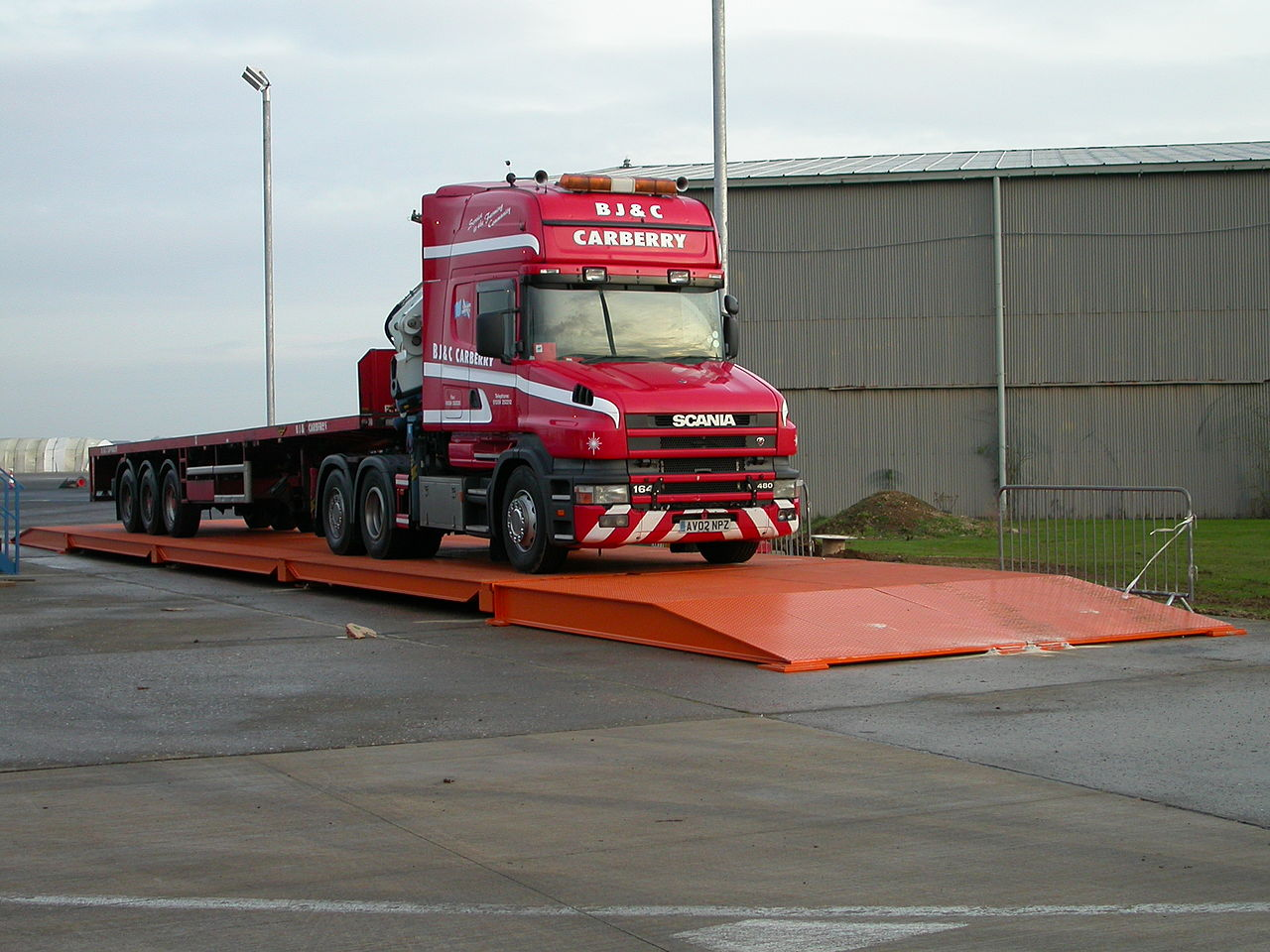 What a weighbridge does and where it comes from